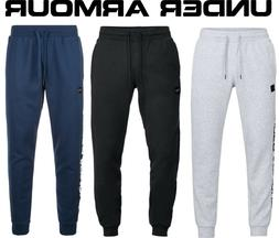 Men's Under Armour Rival Fleece Script Joggers Sweatpants UA