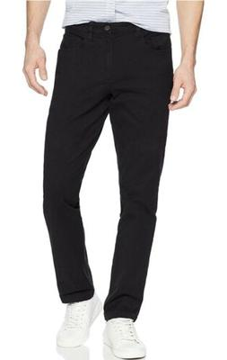 Goodthreads Men's Slim-Fit 5-Pocket Chino Pant, Black, 31W x
