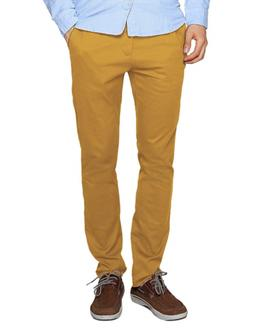Match Men's Slim Tapered Stretchy Casual Pant 38, 8114 Khaki