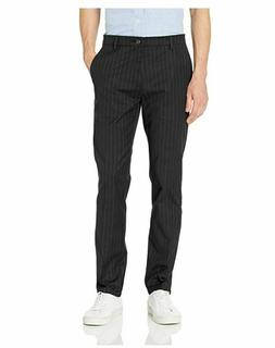 Goodthreads Men's Straight-Fit Wrinkle-Free Chino Pant Black