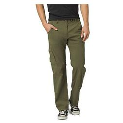 prAna Men's Stretch 34-Inch Zion Pant - Cargo Green, XX-Larg