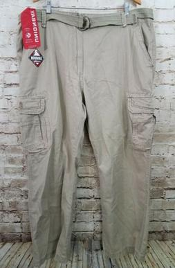 Unionbay Men's Survivor Iv Relaxed Fit Cargo Pant Desert 44x