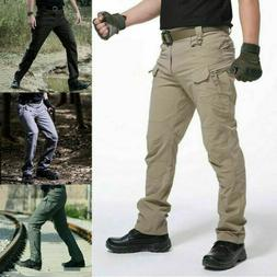 Men's Tactical Trousers Outdoor Hiking Windproof Waterproof