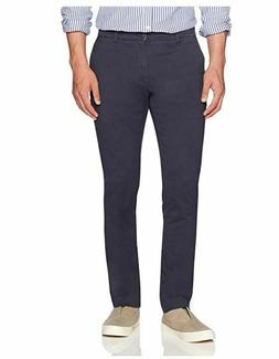 """Goodthreads Men's """"The Perfect Chino Pant """" Slim-Fit, Navy,"""