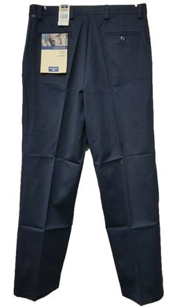 Dockers Men's Washed Chino Dress Pants Casual Navy Blue - 10