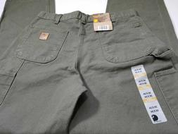 Carhartt Men's Washed Duck Work Dungaree Utility Pant Carpen