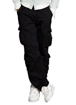 Match Men's Wild Cargo Pants 3357 BLACK