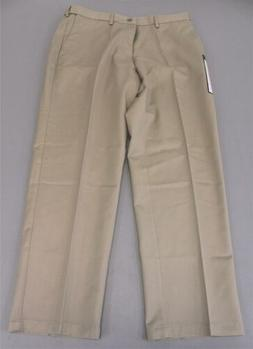 Haggar Clothing Men's Work To Weekend Flat Front JH7 Khaki S