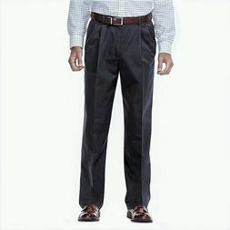 Men's Haggar Work-To-Weekend No-Iron Classic Pleated Pants,S