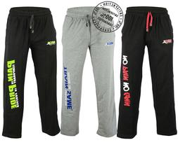 Men Sweat Pant Gym Fitness Workout Exercise Jogging Trouser