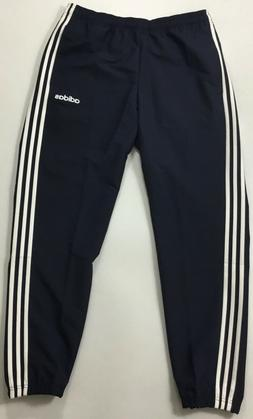 "Adidas Mens 28"" Essentials 3-Stripes Wind Pants DU0453 Nav"