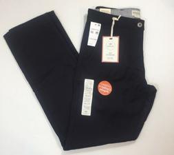 Dockers Men's Alpha Khaki Slim Tapered Pants - Black - 29x