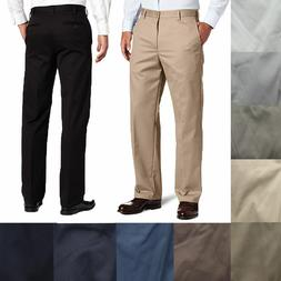 IZOD Mens American Chino Flat Front Straight Fit Dress Pants