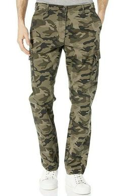 mens athletic fit camouflage cargo pants size