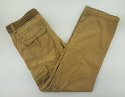 mens cargo pants 34x32 belted cargo pockets