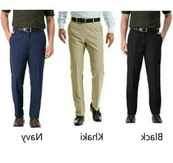 Haggar Mens In Motion Performance Straight Fit Stretch Pants