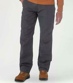 Wrangler Mens Outdoor Coated Cotton Utility Pants Carbonite