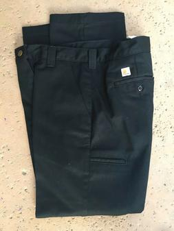 Carhartt Men's Pants 31x30 Relaxed Fit Black New NWT