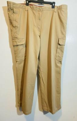 Dockers Mens Pants 48 X 30 Relaxed Fit NWT Flat Front Straig