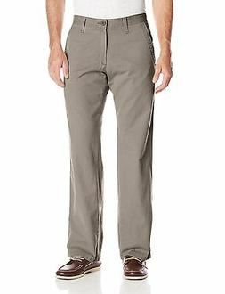 Lee Mens Pants Weekend Chino Straight Flat Front Sage size 3