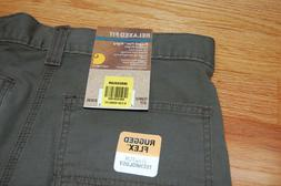 Carhartt Men's Rugged Flex Relaxed Fit 31x30 Olive Green