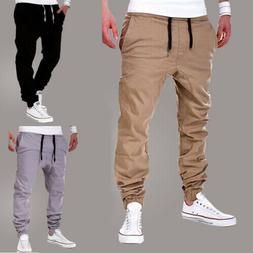Mens Sport Pants Long Trousers Tracksuit Gym Fitness Workout