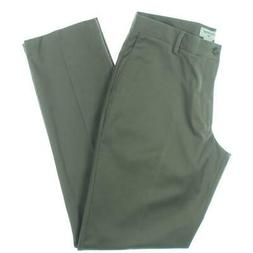 Dockers Mens Taupe Solid Athletic Fit Dress Pants Trousers 3