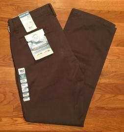 Lee Mens Weekend Straight Fit Khaki Chino Pants Walnut Color