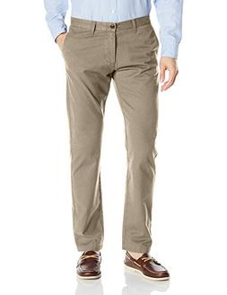Dockers Men's Modern Khaki Slim Tapered Flat Front Pant, Saf