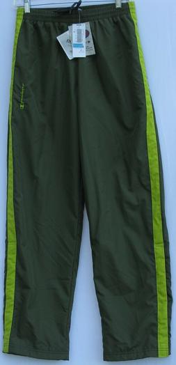 NEW !! Champion 2 pocket polyester/rayon lined athletic pant