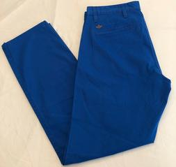 New Dockers Men's Alpha Blue, Khaki Slim Tapered Pants. Size