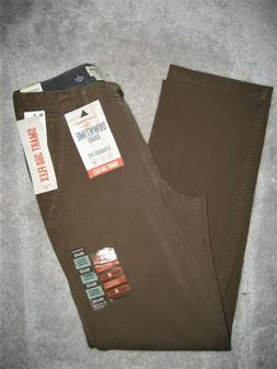NEW Dockers Men's Brown Downtime Khaki Pants; Smart 360 Flex