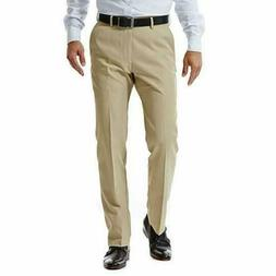 NEW Haggar Men's in Motion Performance Straight Fit Stretch