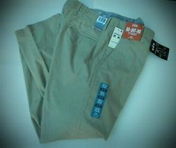 NEW men's DOCKERS ON THE GO beige dress chino pants 36 X 30