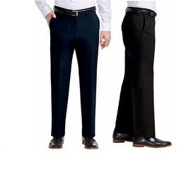 NEW Haggar Men's Premium Stretch Straight Fit Flex Waistband
