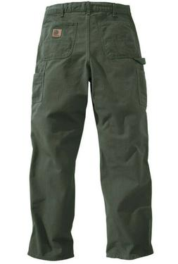new mens washed duck work dungaree pants