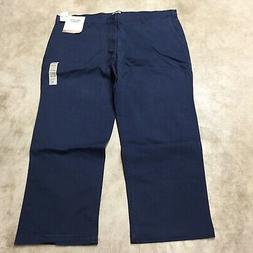 NEW mens dockers washed khaki classic fit big and tall stret