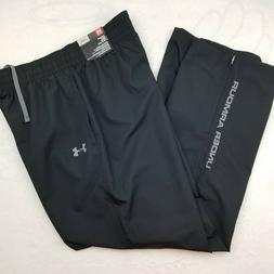 New Under Armour Polyester Black Pants Mens Size Large