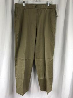 New Dockers Signature Khaki Classic Fit Flat Front $58 Mens