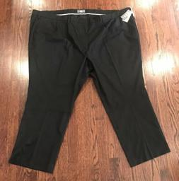 NWT$65 MEN'S DOCKERS SIGNATURE BIG & TALL PLEATED BLACK PANT