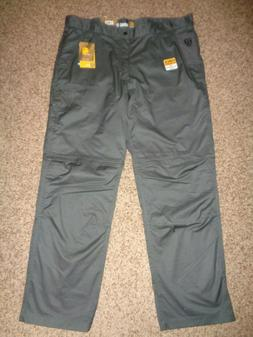 NWT Carhartt Force Extremes Men's Zip-Off Pants, Straight Le