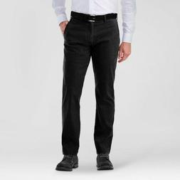 NWT Haggar H26 Men's Straight Fit Sustainable Chino Pants-Bl