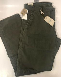 NWT Levi's Dockers Mens Alpha Khaki Pants 36x32 Slim Fit Oli