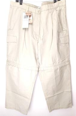 NWT Columbia Men Roc Mountain Convertible Pants Tan 40 X 32