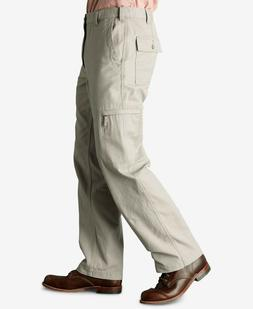 NWT Dockers Men's Comfort Classic Fit Cargo Pants Light Khak