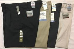NWT,MEN'S DOCKERS COMFORT KHAKI RELAXED FIT  PLEATED DRESS P
