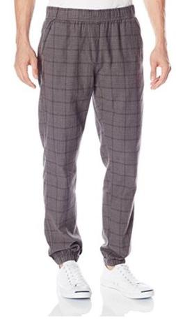 NWT UNIONBAY Men's Koen Plaid Jogger Pant Size: Small