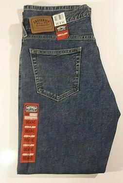 NWT MEN'S LEVI'S SIGNATURE RELAXED FIT STRAIGHT LEG BLUE JEA