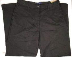 NWT Men's DOCKERS Premium Pants Size 34 x 32 Black