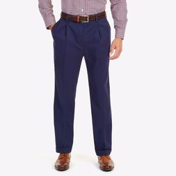 NWT Men's Nautica Rigger Double Pleated Classic Fit Pants Ne